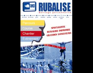 Rubalise - Bandes imprimées Balisage & Sécurité