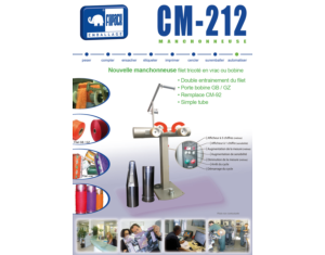 Manchonneuse CM-212