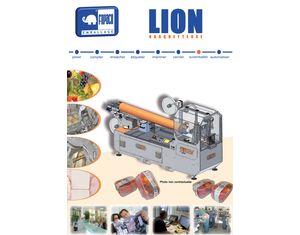 Barquetteuse sous filet - LION