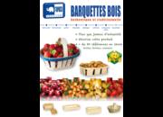Barquettes & Paniers Bois