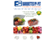 Barquettes Plastique PP - PET